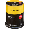 EUR 14,99 - CD-R 80 Min/700 Mo Intenso 52x  en cakebox 100 pieces